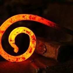 glowing-metal